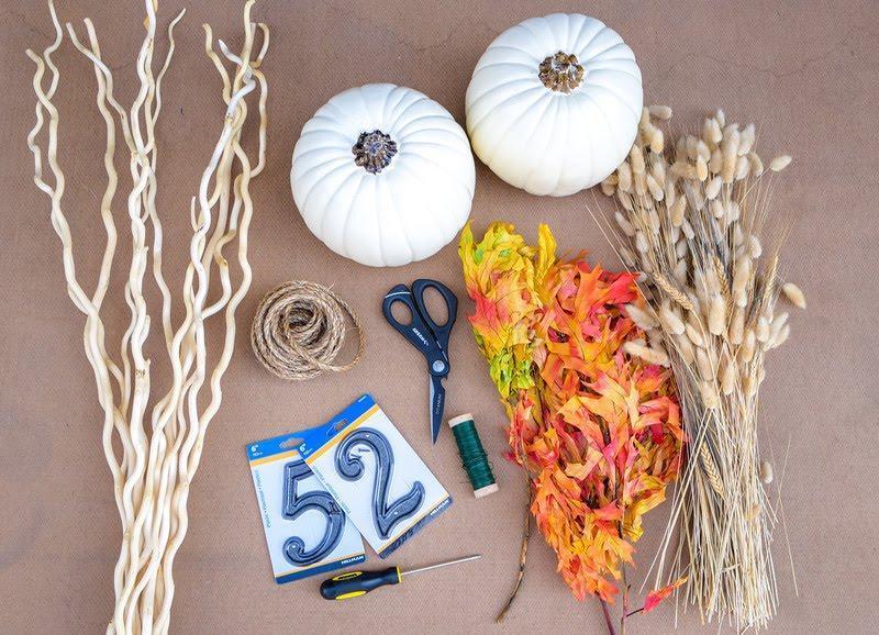 pumpkin decoration diy