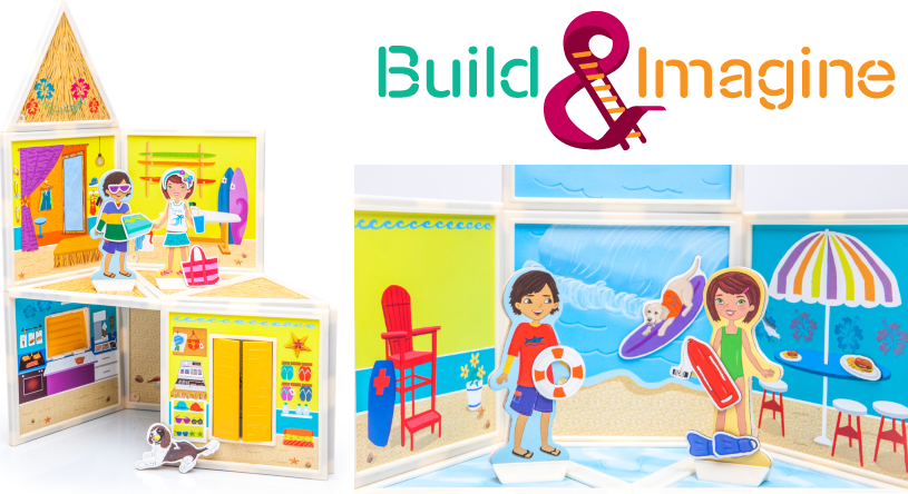 Build and Imagine Day at the Beach
