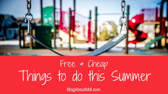 free and cheap things to do this summer