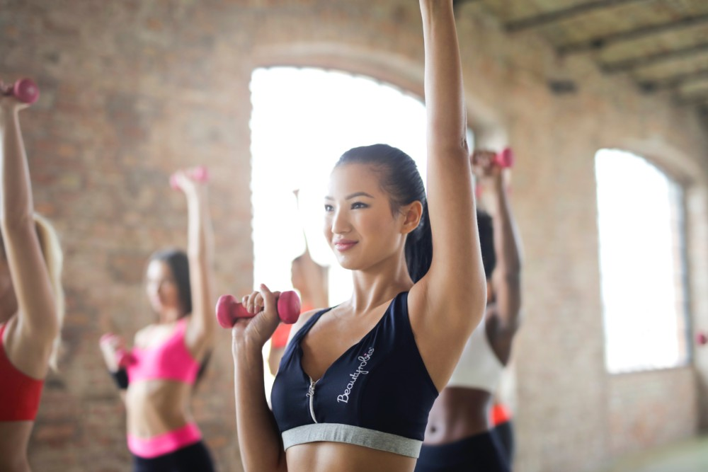 gym exercise for moms women