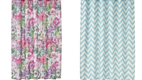 Kohl's Cardholders: Home Classics Chevron Fabric Shower Curtain