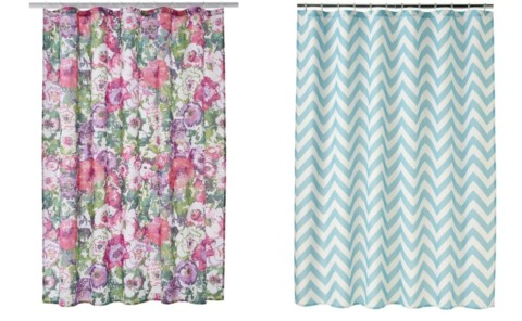 Kohl's Cardholders: Home Classics Chevron Fabric Shower Curtain