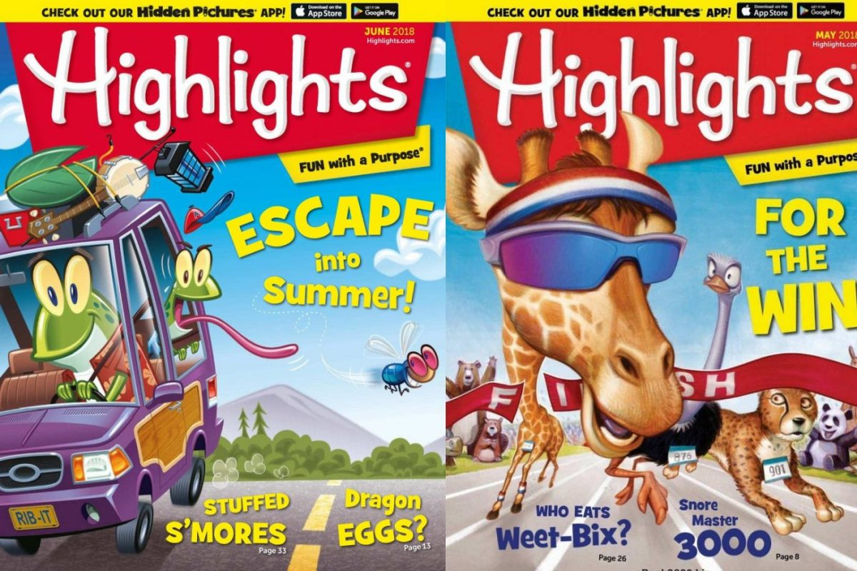 highlights puzzle book