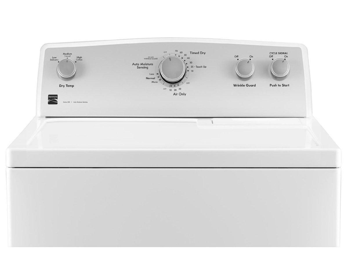 kenmore dryer sale deal