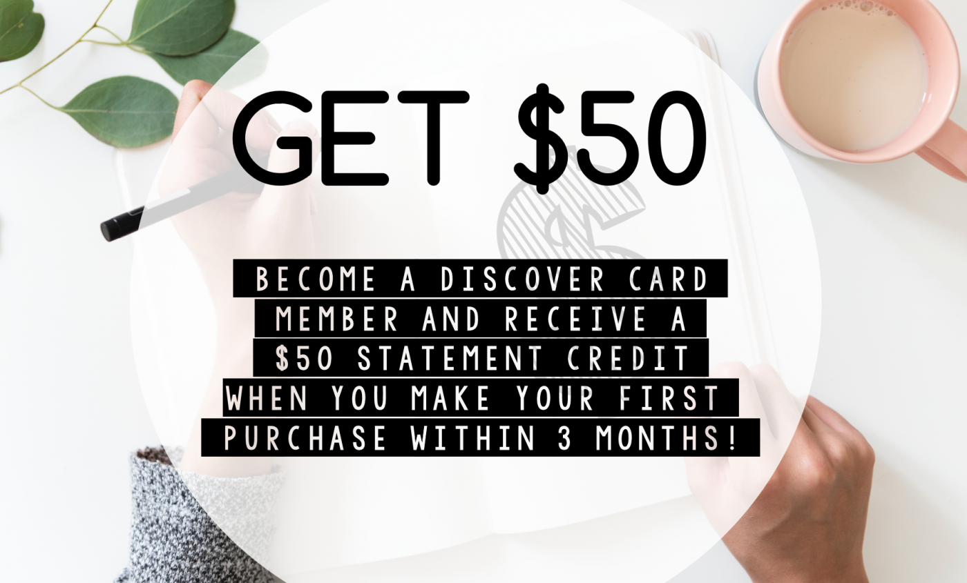 discover card free money free credit free cash earn rewards