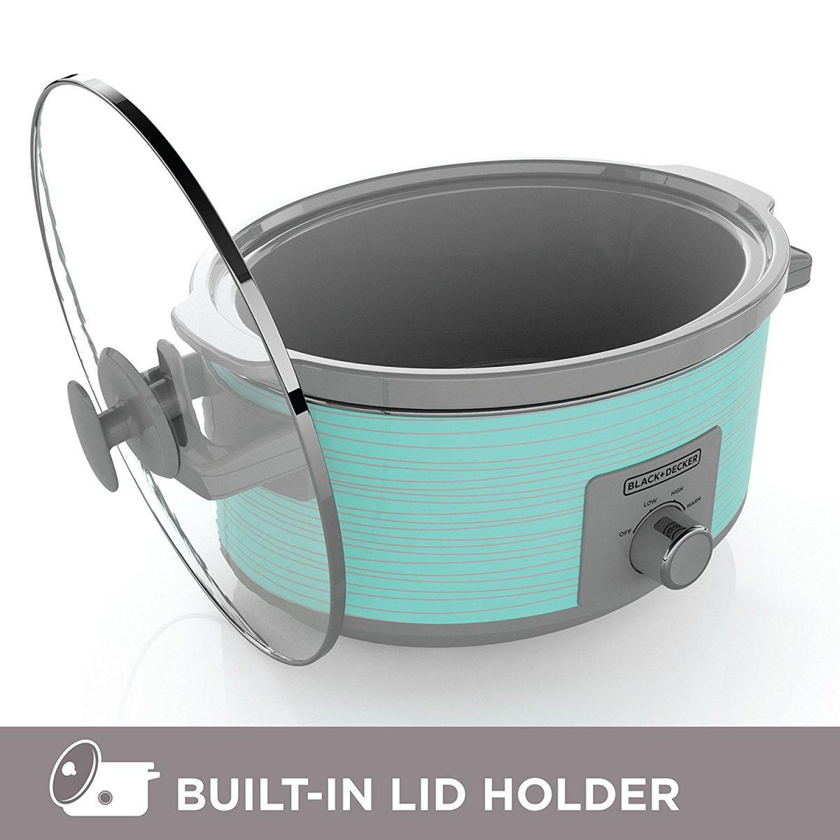 Black and Decker 7 Quart Slow Cooker Crock Pot
