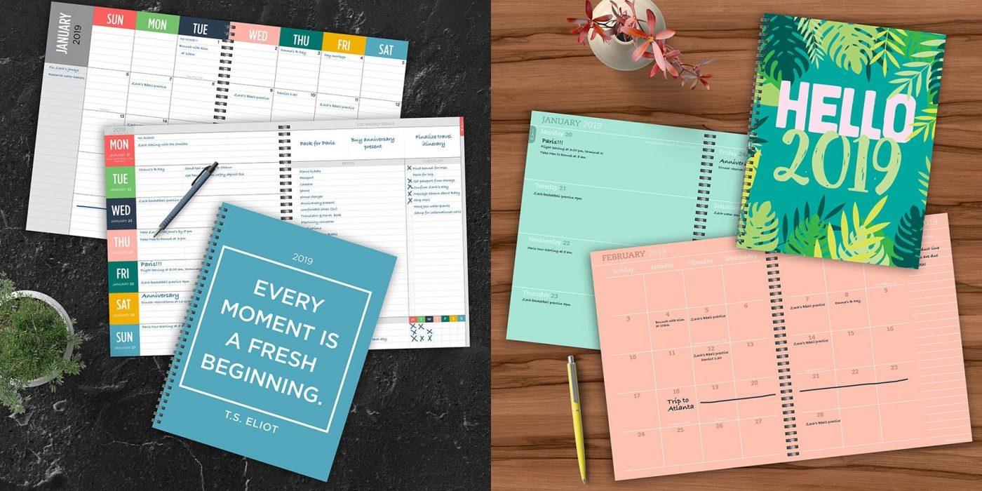 2019 planner agenda