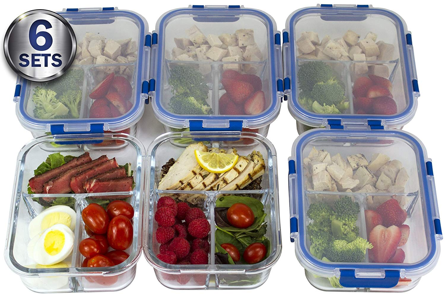 glass containers food storage
