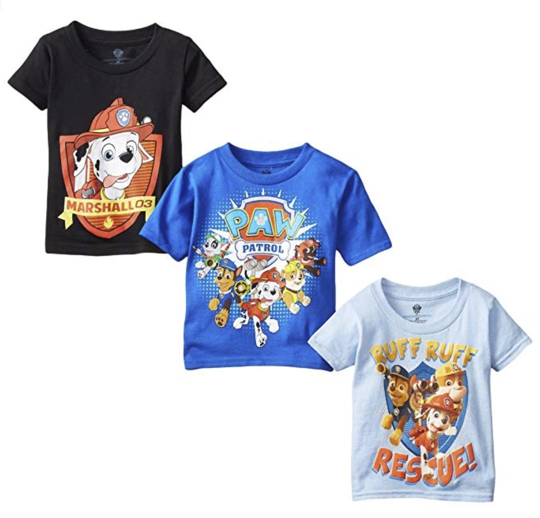 boys paw patrol shirts