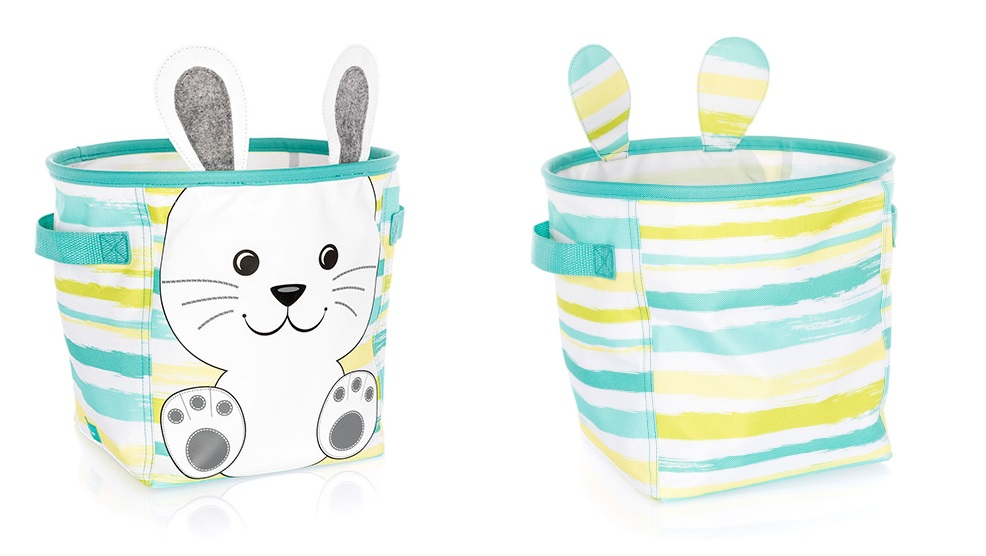 Thirty One Tote Easter Basket Bucket Bag