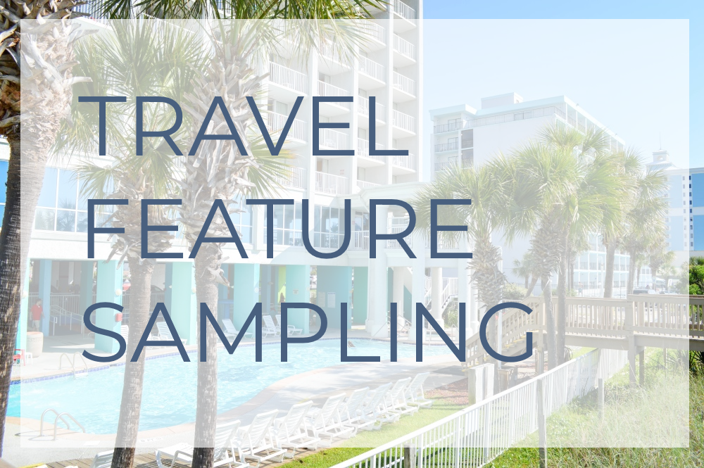 travel feature sampling travel blogger