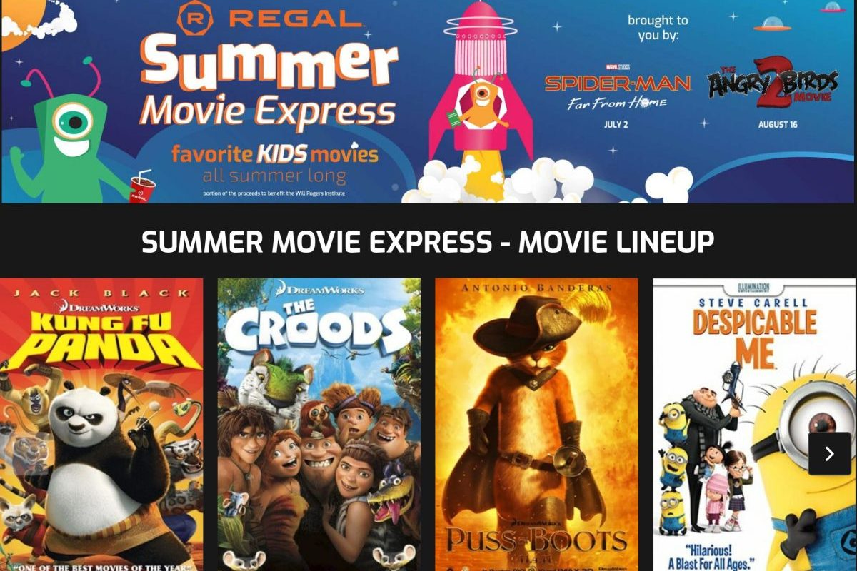 Dollar Movies Regal Summer Express