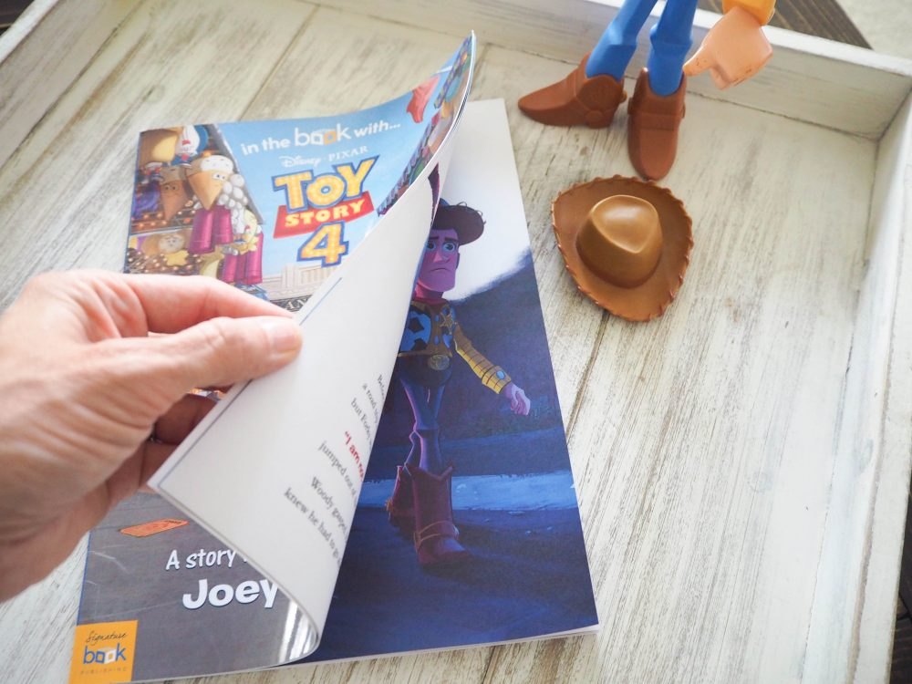 Disney Toy Story 4 book