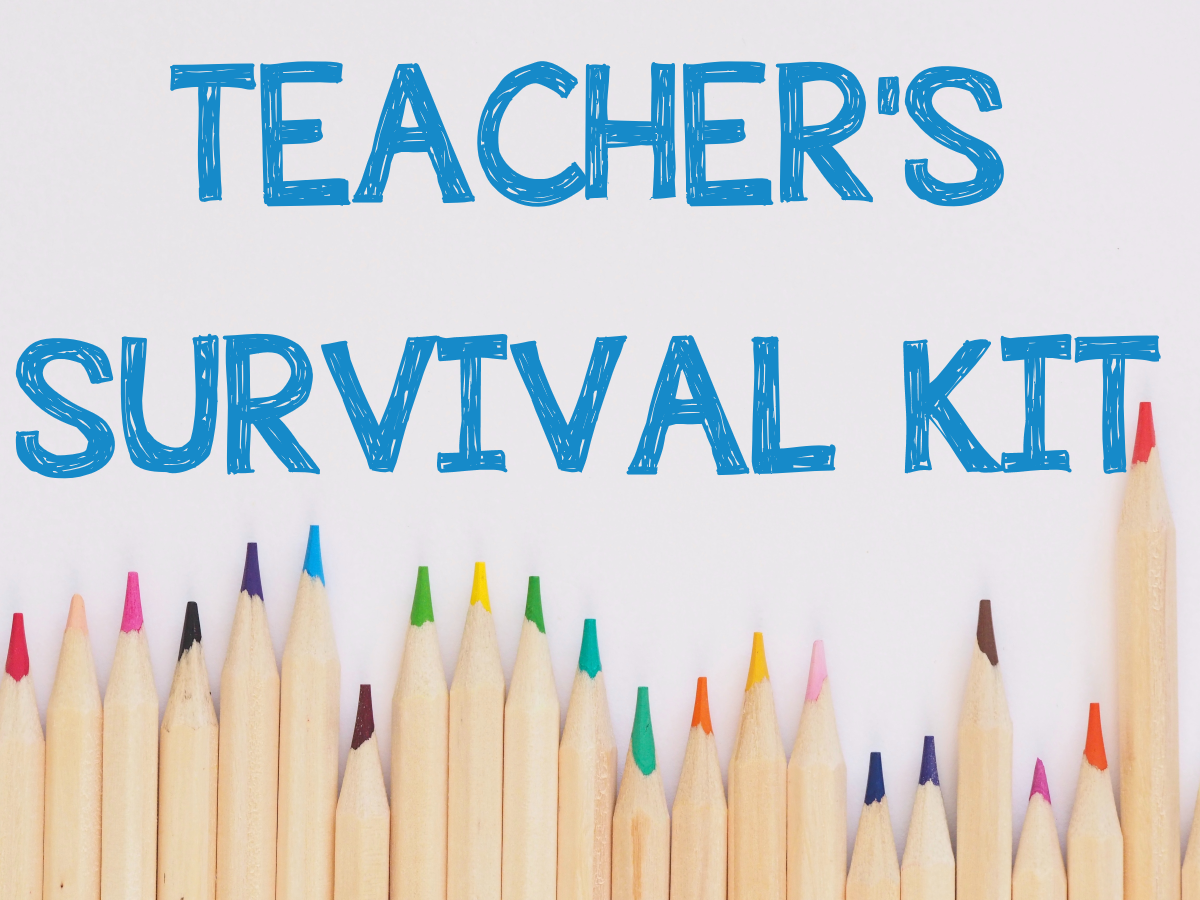 TEACHER'S SURVIVAL KIT GIFT IDEA