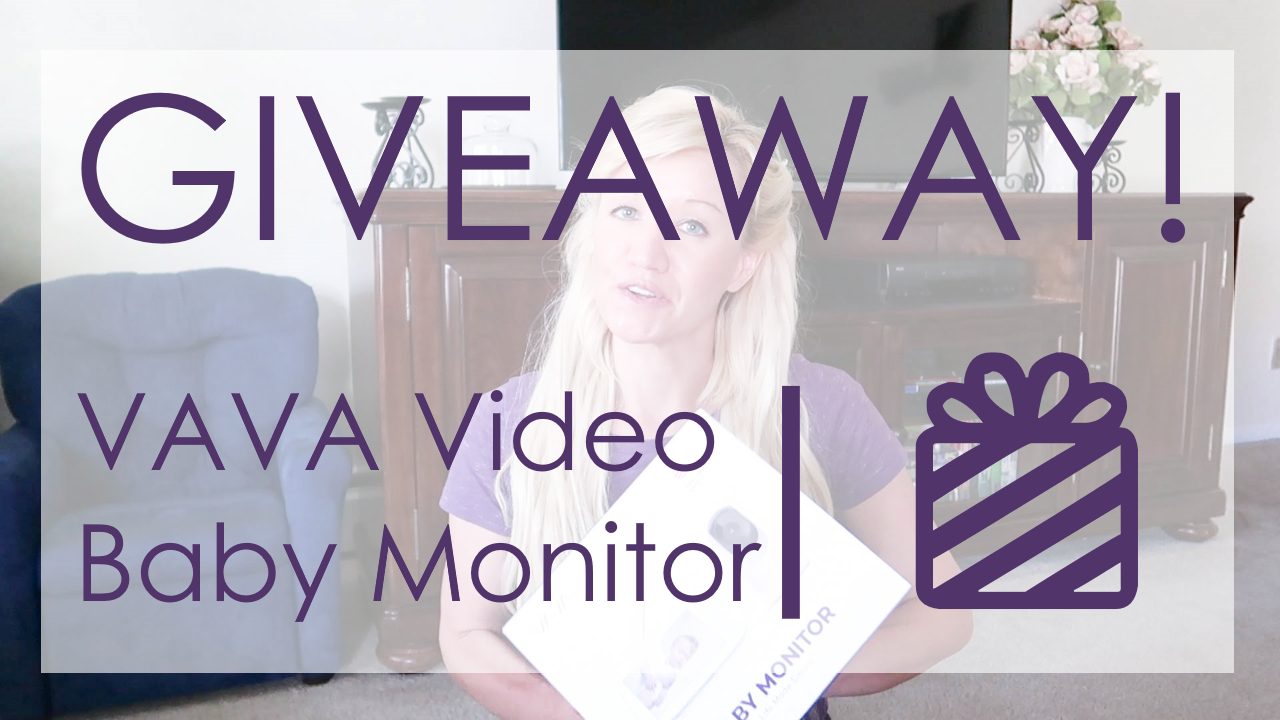 VAVA Video Baby Monitor Giveaway