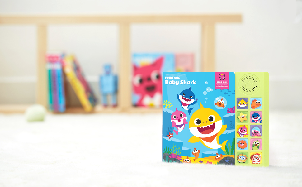 pinkfong baby shark sound book