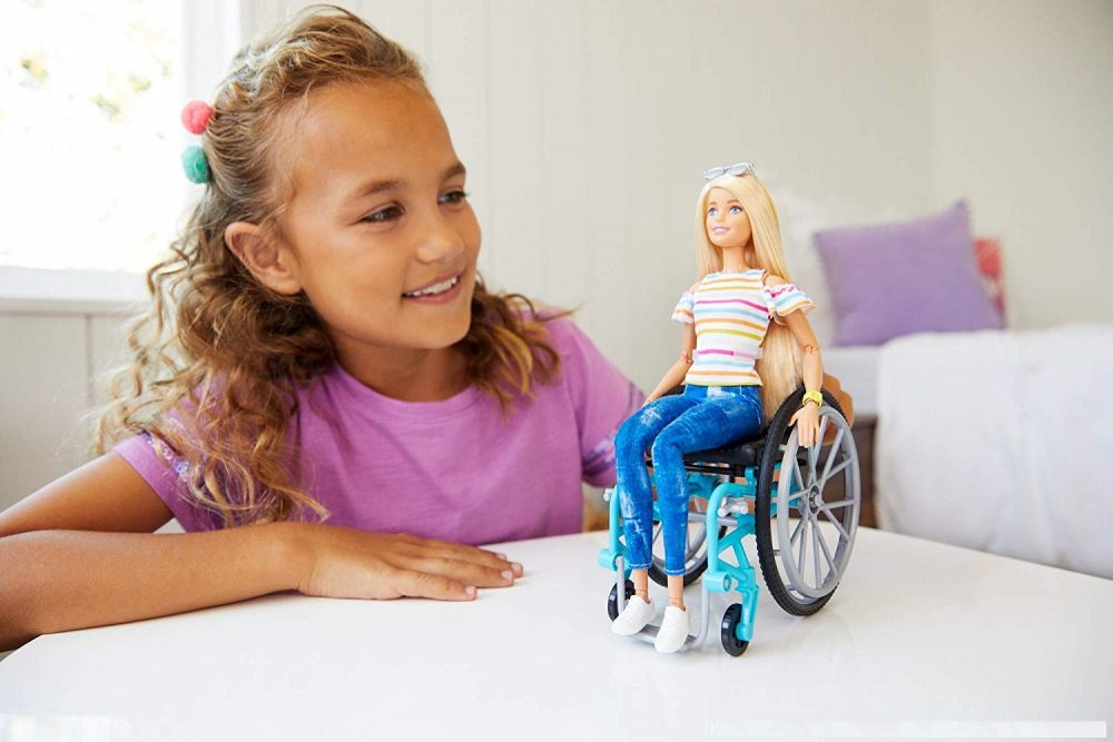 wheel chair barbie doll