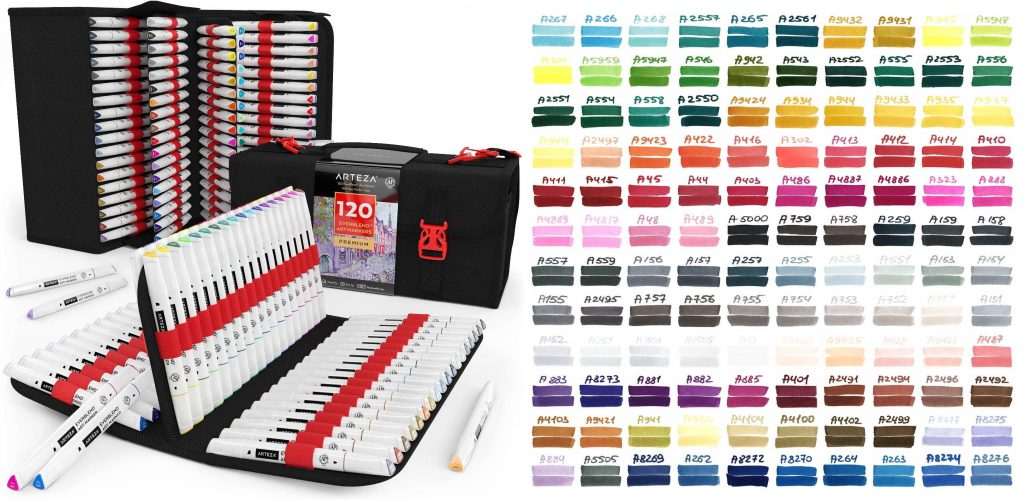 120 count arteza marker set