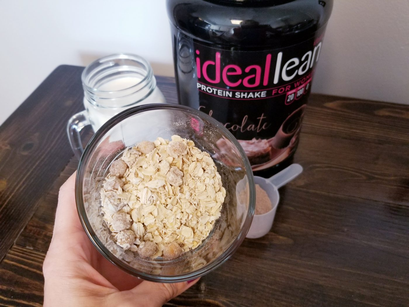 oatmeal protein powder