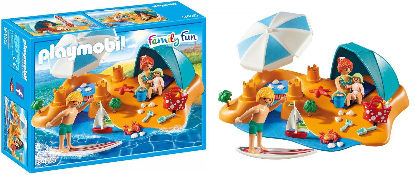 PLAYMOBIL FAMILY BEACH DAY BOX