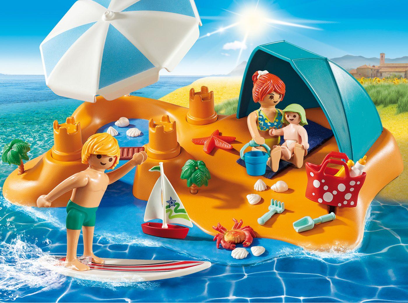 PLAYMOBIL Family Beach Day LEGO SET