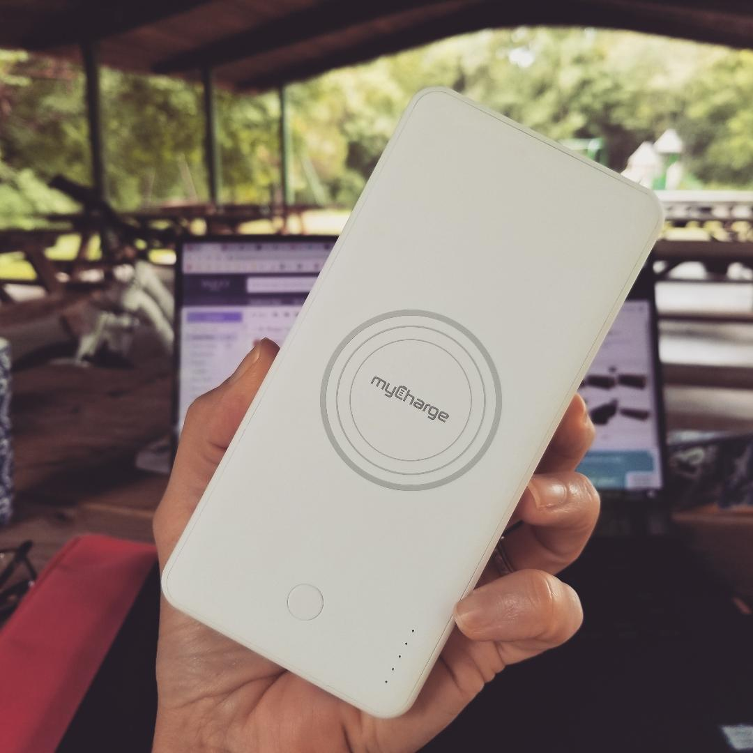 myCharge wireless portable charger