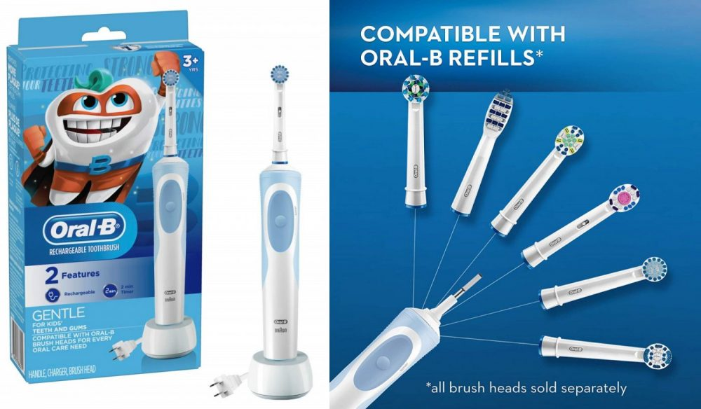 oral b kids toothbrush electric coupon