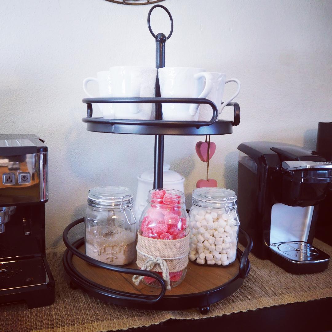 coffee server tray