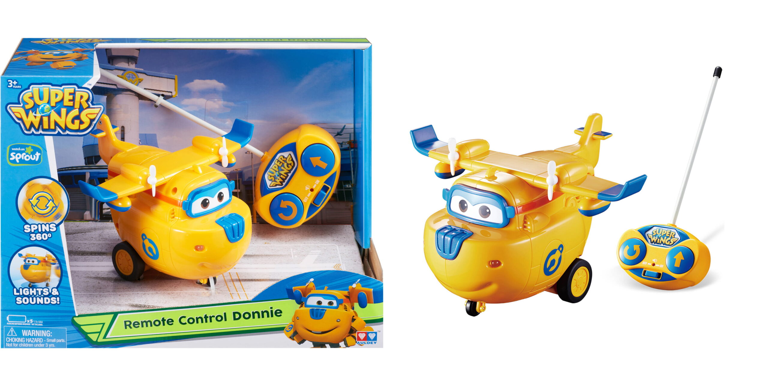 Super Wings Remote Control Donnie