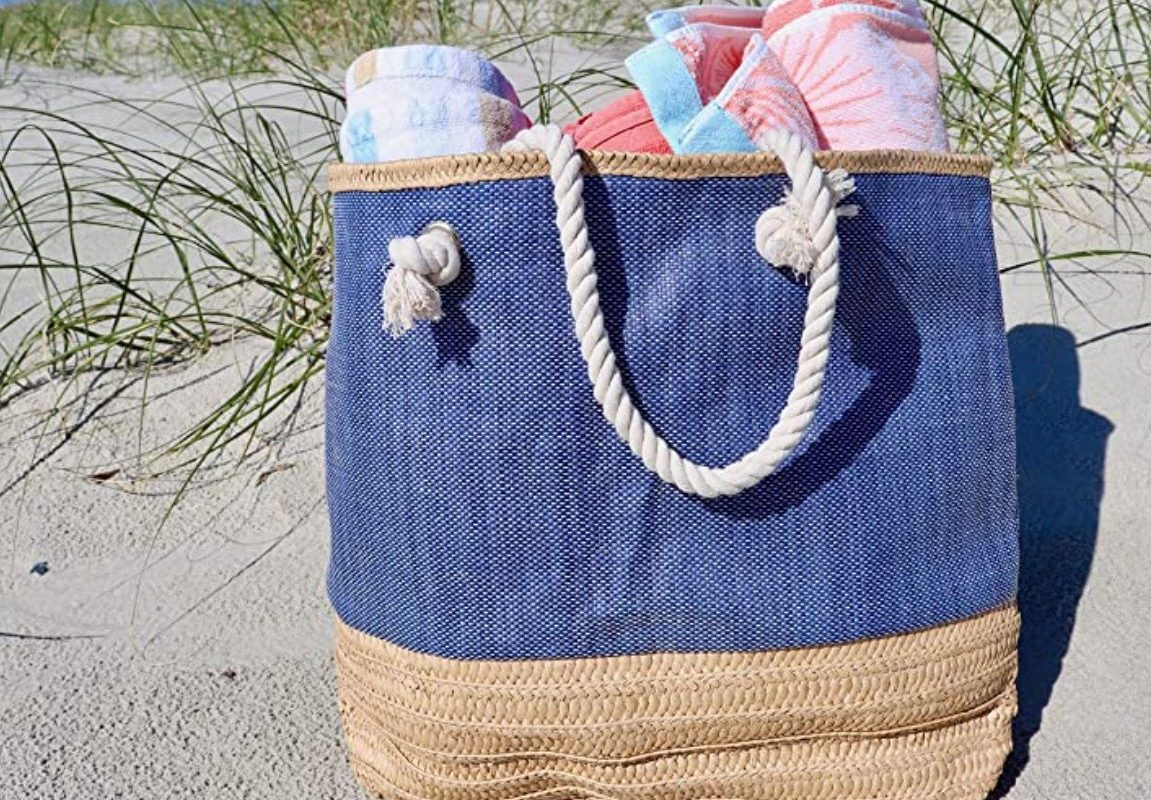 beach bag beach tote