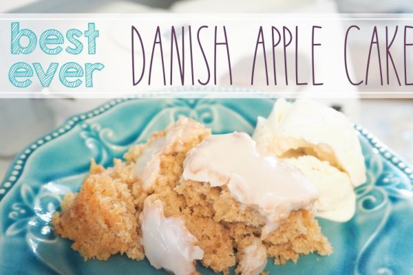easy danish apple cake recipe