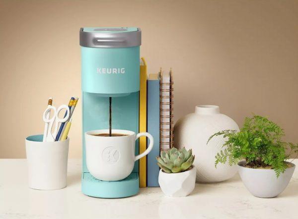 keurig k mini single serve k cup pod coffee maker