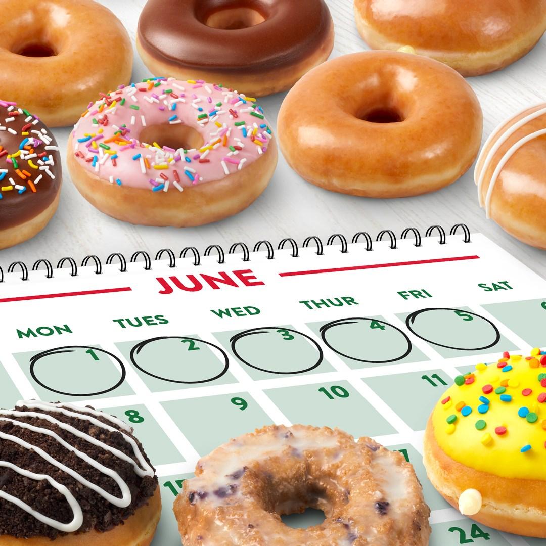 krispy kreme free doughnut donut week