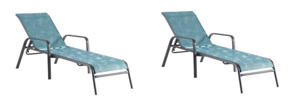 sonoma goods coronado sling chaise lounge pool chair sale deal coupon code kohl's deal