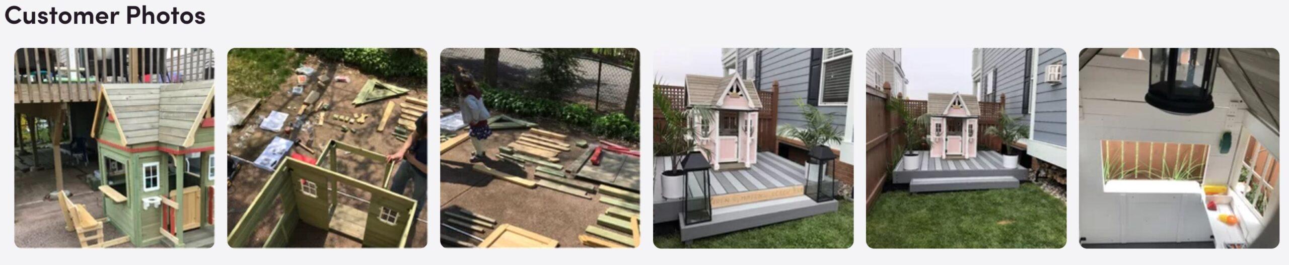 victorian outdoor kids playhouse