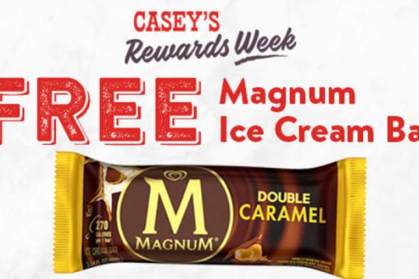 Free Magnum Ice Cream Bar