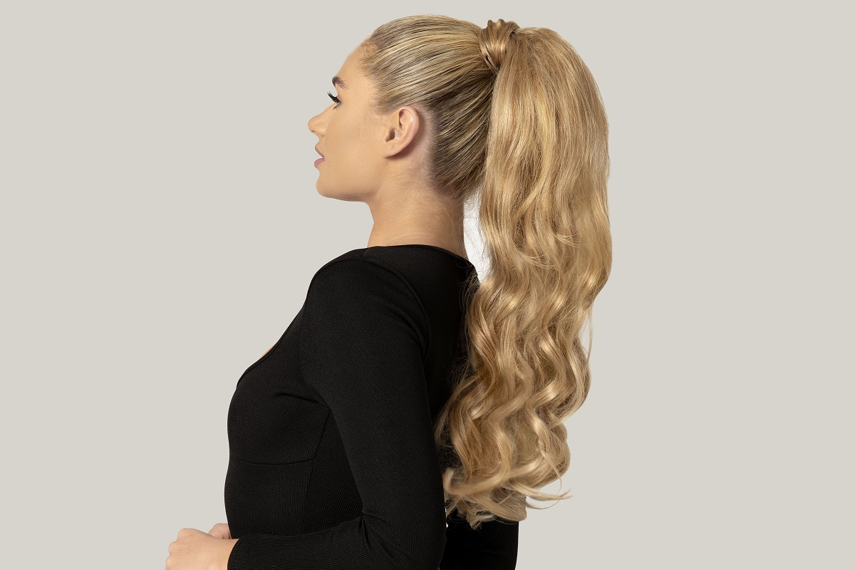 Use ponytail hair extensions